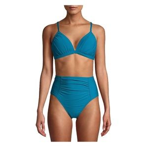 TIME AND TRUE Odes Sea Two Piece Swimsuit M NWT